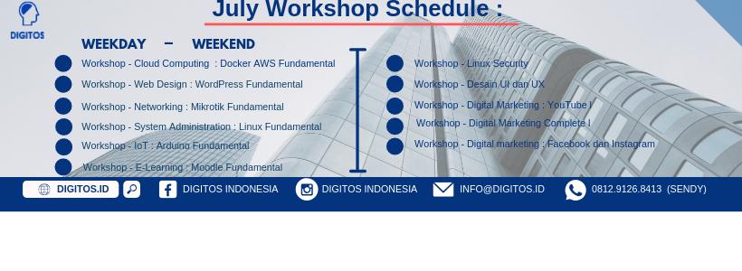 Info Workshop 2019